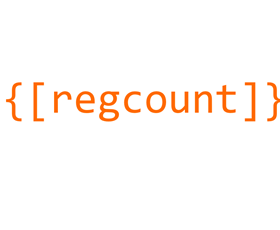 Registrant Count Shortcode shared by Jim Michael